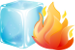 Ice or Fire logo