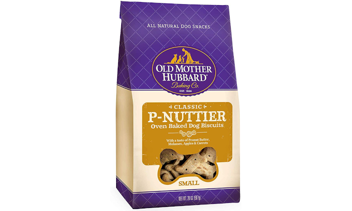 Old Mother Hubbard P-Nuttier Natural Dog Treats Review